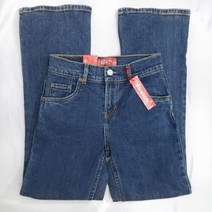 Levi's Girls 517 Medium Wash Flare Stretch Jeans